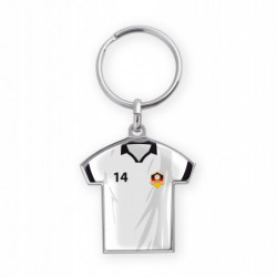 ZINC ALLOY KEY RING SHIRT...