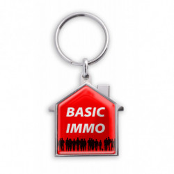 ZINC ALLOY KEY RING HOUSE...