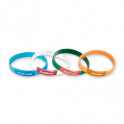 SILICONE BAND WITH...