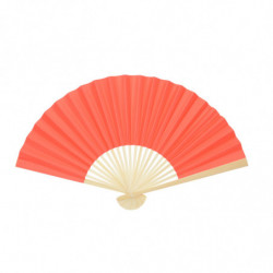 BAMBOO AND PAPER FAN