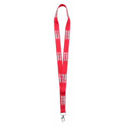 LANYARD MARQUAGE RELIEF 3D
