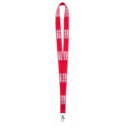 LANYARD MARQUAGE RELIEF...